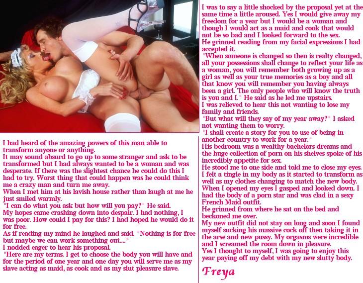 from Armani freyas transgender stories